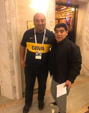 Ровно год назад посчастливилось встретиться с самим Королём Футбола Диего Марадоной, с которым мечтал встретиться с 1982 года